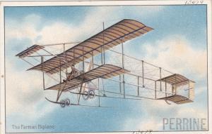 Pioneer aviation airplane , 00-10s ; The Farman Biplane , TUCK #406 series