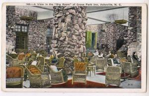 Big Room, Grove Park Inn, Asheville NC
