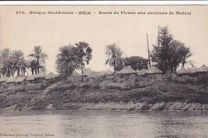 Senegal, 00-10s : Bords du Fleuve aux environs de Matam