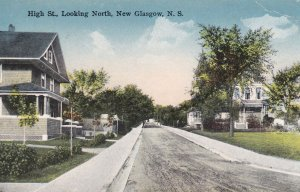 NEW GLASGOW , Nova Scotia, 1929 ; High Street , North ,