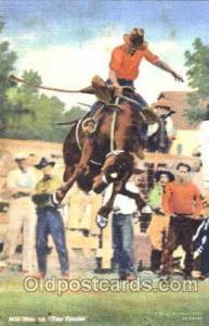 Milt Moe on Tea Trader, Western, Cowboy, Cowgirl, Postcard Postcards  Milt mo...