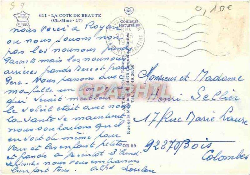 Modern Postcard The Cote de Beaute (Ms. Ch)