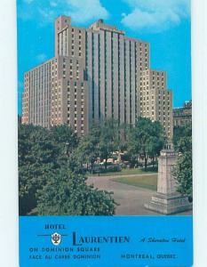 Unused Pre-1980 TOWN VIEW SCENE Montreal Quebec QC p9121