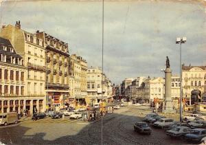 France Lille Place du General de Gaulle, La Deesse, auto, cars
