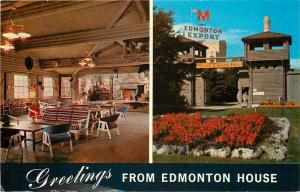 Edmonton AB~Molson's Brewery House~Upright Player Piano~Entrance & Inside 1967