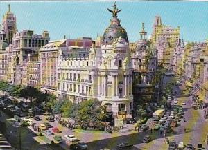Spain Madrid Calle de Alcala y Avenida de Jose Antonio
