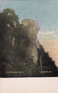 Illinois Savanna Indian Head Rock 1910