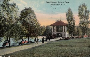 ROCHESTER, New York, 1913; Band Stand, Seneca Park