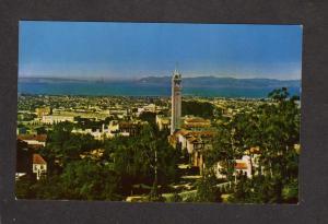 CA Univ University of California Berkeley Campus San Francisco Bay Postcard