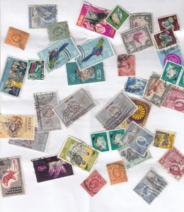 Kenya Uganda 40x African Stamp Collection Bundle