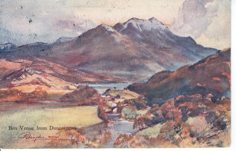 US    PC2015 PAINTING - BEN VENUE FROM DUNCAGGAN