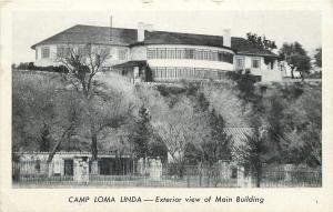 Hunt Texas~Camp Loma Linda~Rotunda Room~1940s B&W