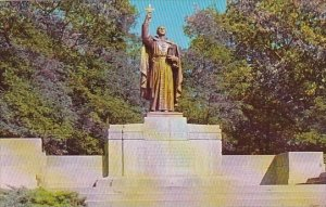 Indiana Gary Statue Of Jacques Marquette  Park
