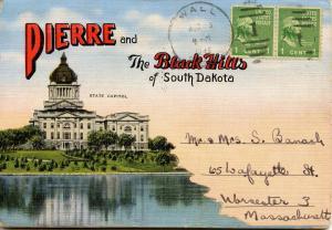 Folder -  South Dakota, Pierre and the Black Hills (18 views + covers + narra...