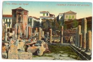 Temple D'Eole Et Agora, Greece, 1900-10s