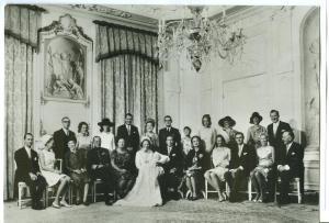 Foto ter gelegenheid van de Doopplechtigheid, Den Haag 9/67