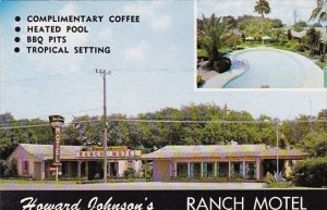 Howard Johnsons Ranch Motel With Pool Corpus Christi Texas