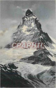 Old Postcard Switzerland Mountains