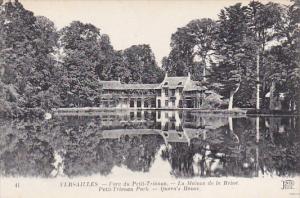 France Versailles Parc du Petit-Trianon La Maison de la Reine