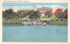 Lakeland Florida Southern College Boat Landing Vintage Postcard JA455943