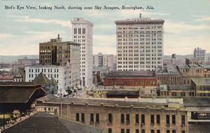 Aerial View, looking N., Showing Some Sky Scrapers, BIRMINGHAM, Alabama, 00-10s