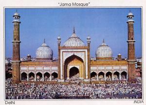 Postcard INDIA, Jama Mosque, Delhi G53