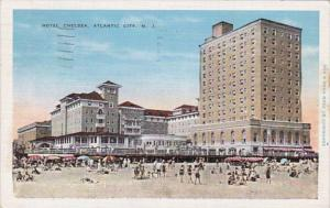 New Jersey Atlantic City Hotel Chelsea 1936