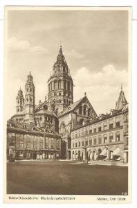 RP: Mainz  , Germany , PU-1932 ; Der dom