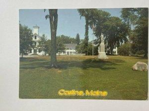 UNUSED PICTURE POSTCARD - CASTINE MAINE USA (KK186)
