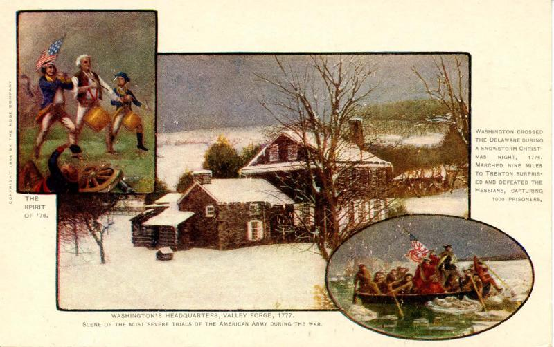 PA - Valley Forge. Washington's Headquarters