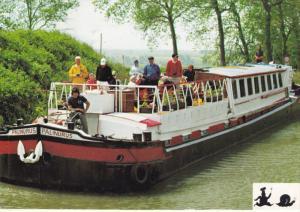 Continental Waterways Hotel Barge PILINURUS , France , PU-1982