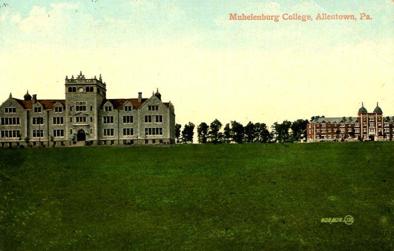 PA - Allentown. Muhlenburg College