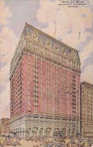 Illinois Chicago Hotel La Salle At Madison Street 1918