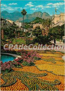 Postcard Modern Riviera Menton La Fete LeMons
