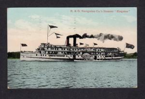Steamer Steamship R&O Navigation Co Kingston Postcard Carte Postale Steam Ship