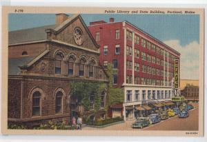 Library, Portland ME