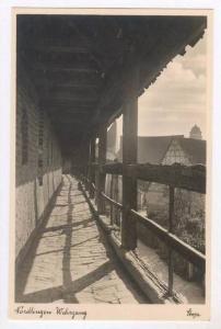 RP, Wehrgang, Nördlingen (Bavaria), Germany, 20-40s