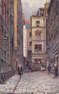 TUCK #1538, Mitre Court adjoining Servants Inn, Inns of Court and Chancery,...