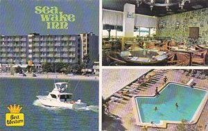 Florida Clearwater Beach Sea Wake Inn With Pool