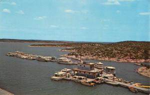 Del Rio Texas Diablo Marina Amistad Lake Vintage Postcard K42582