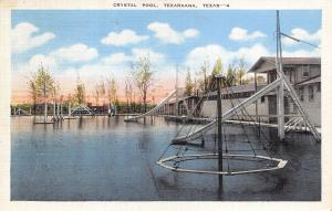Texarkana Texas~Witch's Hat~Water Slides @ Crystal Pool~1947