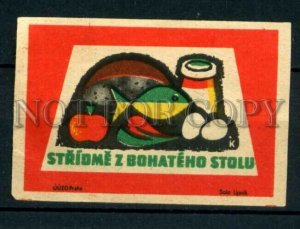 500810 Czechoslovakia products ADVERTISING Vintage match label