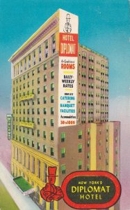 We Hope You Enjoyed The Stay at Diplomat Hotel New York City Postcard
