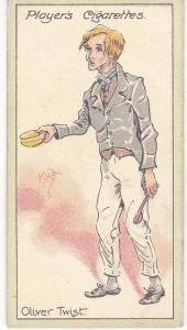 Cigarette Cards Players Characters From Dickens No  4 Oliver Twist
