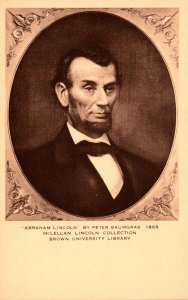 Abraham Lincoln By Peter Baumgras 1865