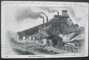 Coal Mine Scranton PA 1905 Illustrated Post Card Co 430