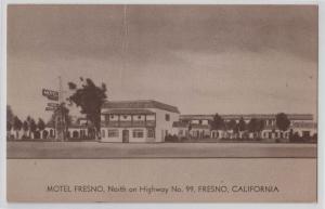 Motel Fresno, Fresno CA