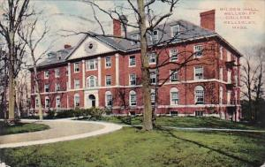 Massachusetts Wellesley Wilder Hall Wellesley College 1919
