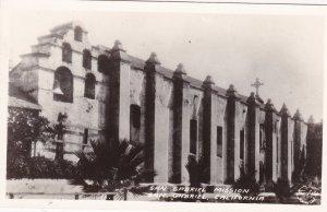 RP, San Gabriel Mission, San Gabriel, California, 30-40s ; FRASHERS FOTO
