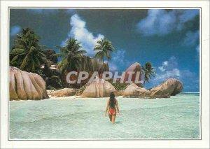 Modern Postcard Seychelles Anse Royale